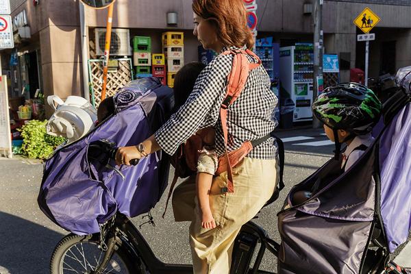Le mamachari est un des symboles forts du vélo au Japon. -Jérémie Souteyrat pour Zoom Japon-