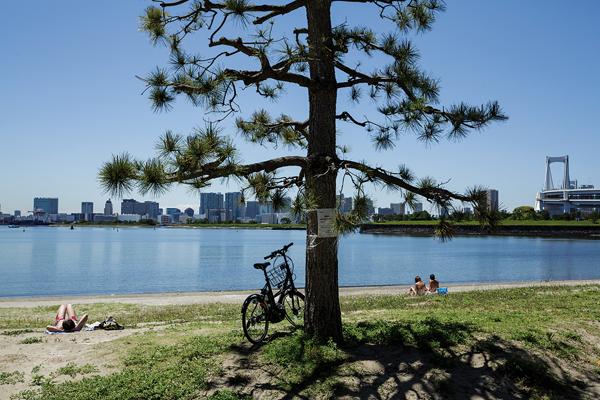 Odaiba est un endroit merveilleux pour profiter de la baie de Tôkyô. -Jérémie Souteyrat pour Zoom Japon-