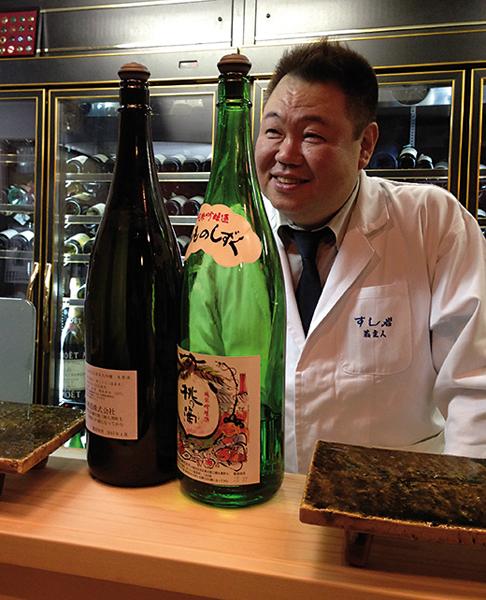 Ônishi Toshiya, chef de Sushi Iwa. -Odaira Namihei pour Zoom Japon-
