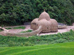 decouverte-mer-interieure-dome-bambou-shodoshima-japon