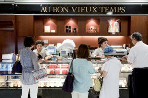 Tokyo, July 17 2014 - At Takashimaya Nihonbashi's depachika (food court). French bakery
