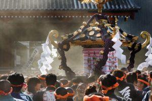 Tokyo, May 19 2013 - Sanja matsuri starts at 6 am at the Asakusa shrine.