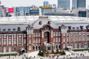 Tokyo, April 9 2014 - Tokyo station