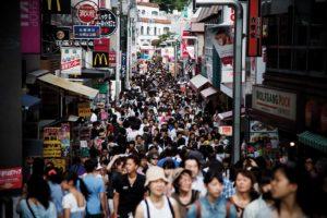 Tokyo, July 2012 - Takeshita street.