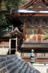 Kotohira, Februray 16 2014 - Main shrine of Konpira-san