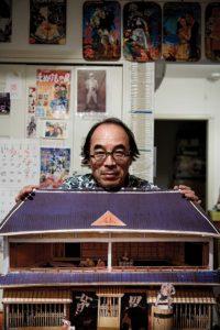 Tokyo, October 18 2013 - Portrait of Machida Shinobu.
