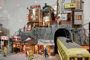 Tokyo, may 31 2014 - Asakusa as seen by Shinobu MACHIDA. In the Asakusa Museum