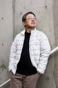 Yokohama, November 30 2014 - Portrait of Japanese writer and novelist Baku YUMEMAKURA.
