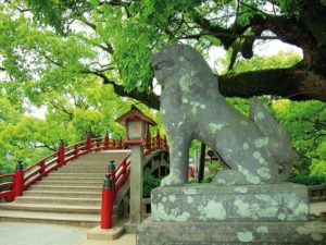 sanctuaire-dazaifu-taikobashi-japon