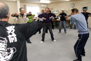 show-entrainement-ishinomaki-japon