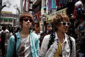 Tokyo, June 9 2013 - Young crowds of Harajuku.