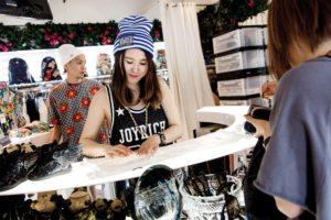 Tokyo, June 6 2013 - Japanese designer Chocomoo introducing her favorite shops in Harajuku - Joyrich