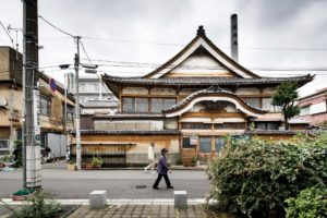 Tokyo, October 21 2013 - Miyojin-yu, a tradionnal sento in the Oota ward, was built in 1957.