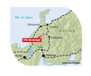 Carte-Shirakawago