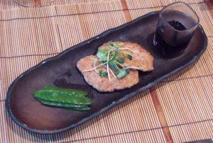 recette-galette-poulet-hache-facon-azabu-japon