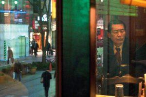 Reflexion on a window of a restaurant in Shinjuku 04 Feb 2011