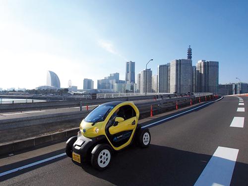 Hitachi a largement contribué au succès du premier système de voiture en libre-service du Japon.©Hitachi Automotive Systems