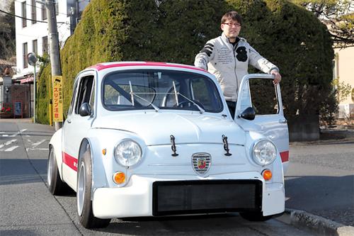 Fujishima Kôsuke nourrit une passion pour la voiture depuis sa plus tendre enfance.©Fujishima Kôsuke