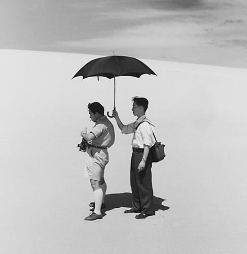 Domon Ken et Asakura, 1949. © Ueda Shôji