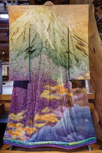 Le travail de Kubota, un émerveillement pour les yeux. ©Jérémie Souteyrat pour Zoom Japon
