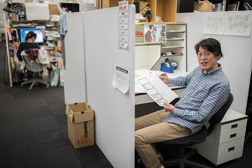Pour le réalisateur, il n'est pas toujours facile de trouver aujourd'hui de bons animateurs. /Benjamin Parks pour Zoom Japon