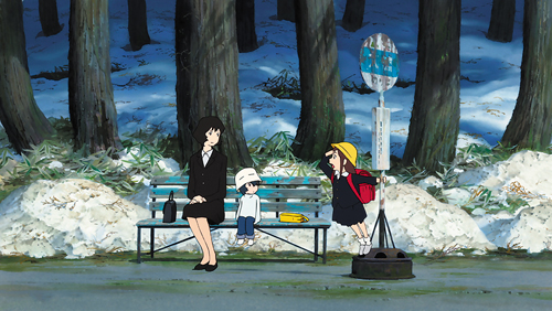 """Les Enfants loups, Ame et Yuki a permis à Hosoda Mamoru de se faire un nom à l'international. © 2012 """"WOLF CHILDREN"""" FILM PARTNER"""