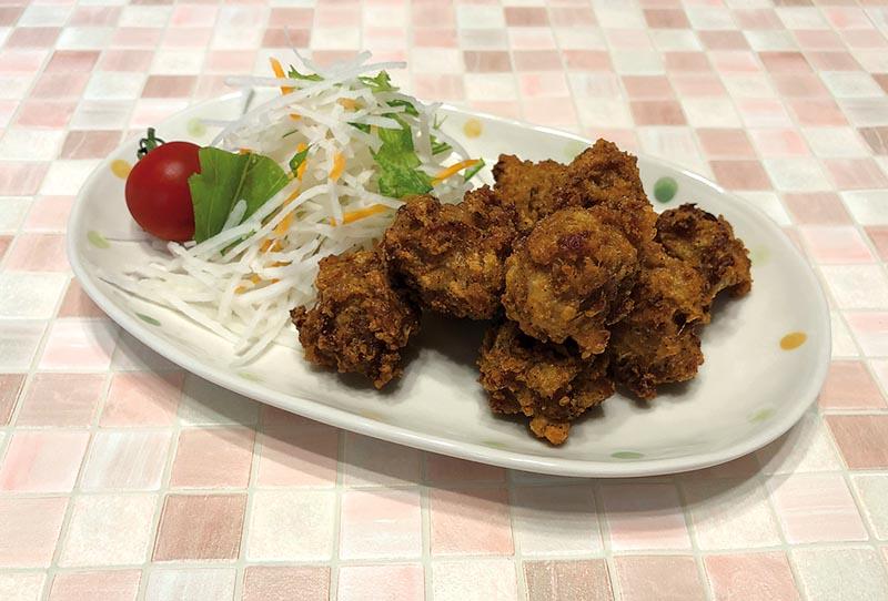 BUTAKOMA NO KARAAGE (Beignets de porc au tofu)