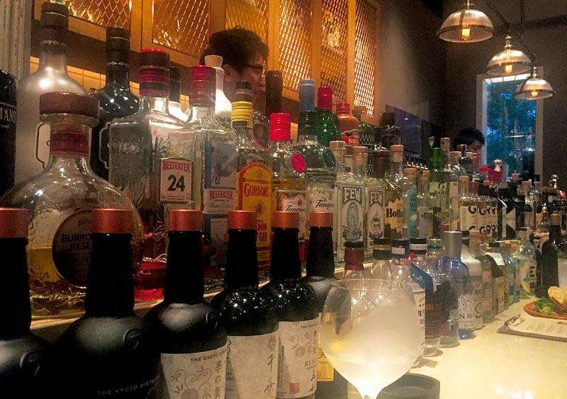 Le gin inspire les Japonais