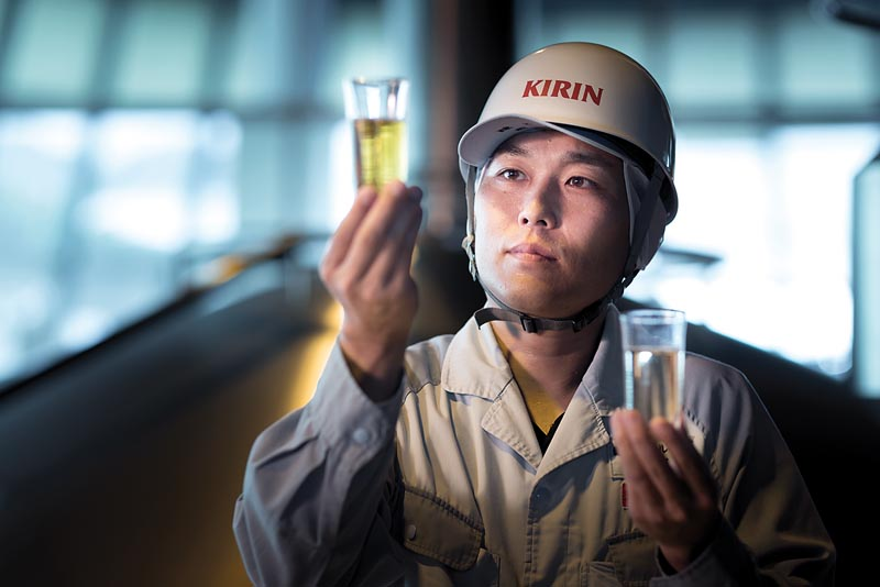 Chez Kirin, le monozukuri est au cœur de la culture de l'entreprise. / Kirin Beer