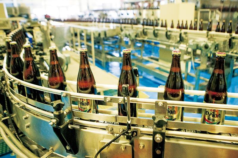 La part de marché d'Orion est passée de 95% à 44% aujourd'hui. / Orion Beer
