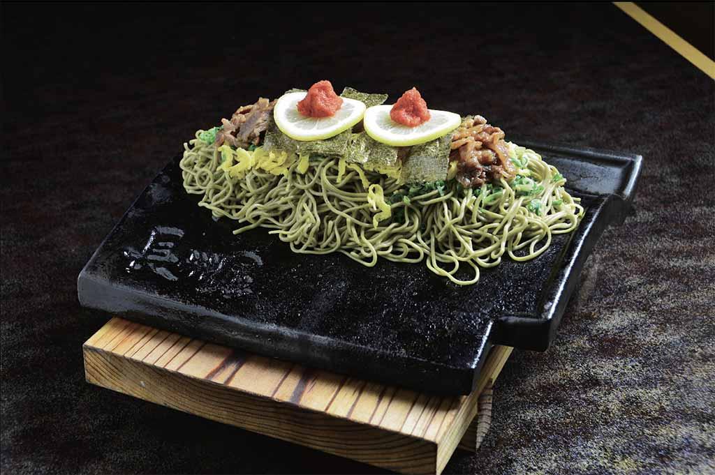 Japon yamaguchi kawarasoba cuisine