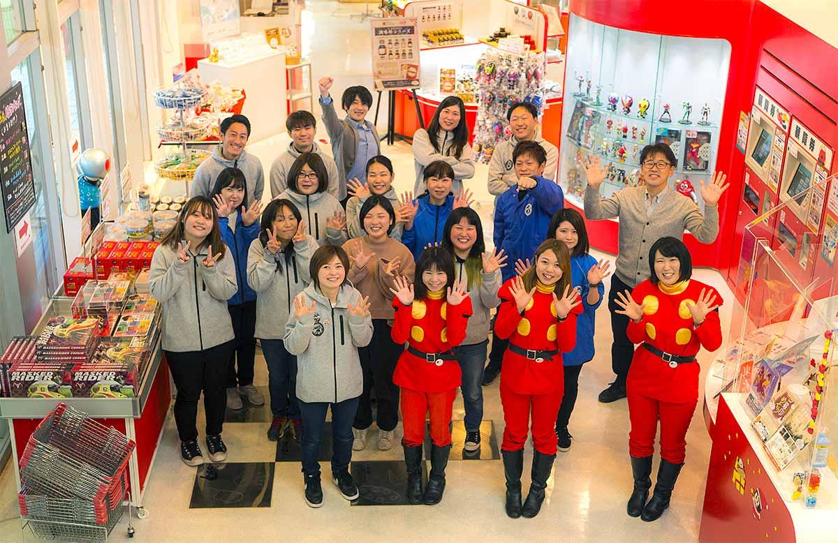 Mangattan Musée du manga d'Ishinomori à Ishinomaki au Japon