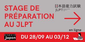 Stage de préparation au JLPT dispensé par Espace Japon